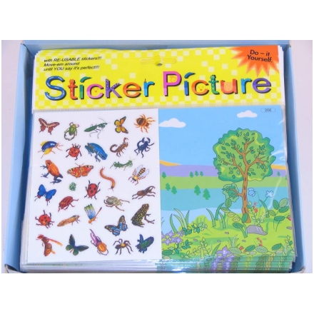 Stickersset insekter